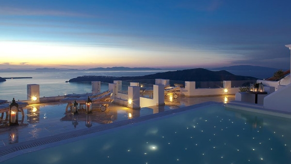 Imerovigli Santorini Boutique Hotels - Above Blue Suites