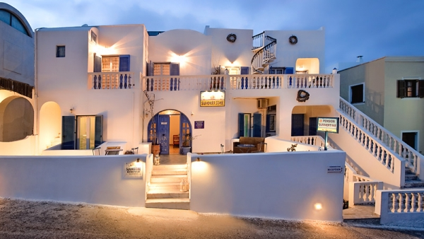 Fira Santorini Hotels Rooms - Summer Time Pension