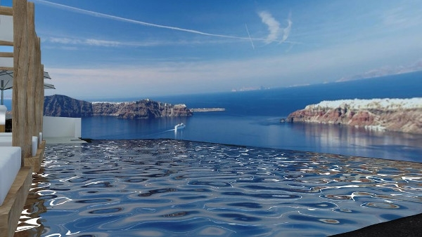 Imerovigli Santorini Luxury Hotels - Galaxy Suites & Villas